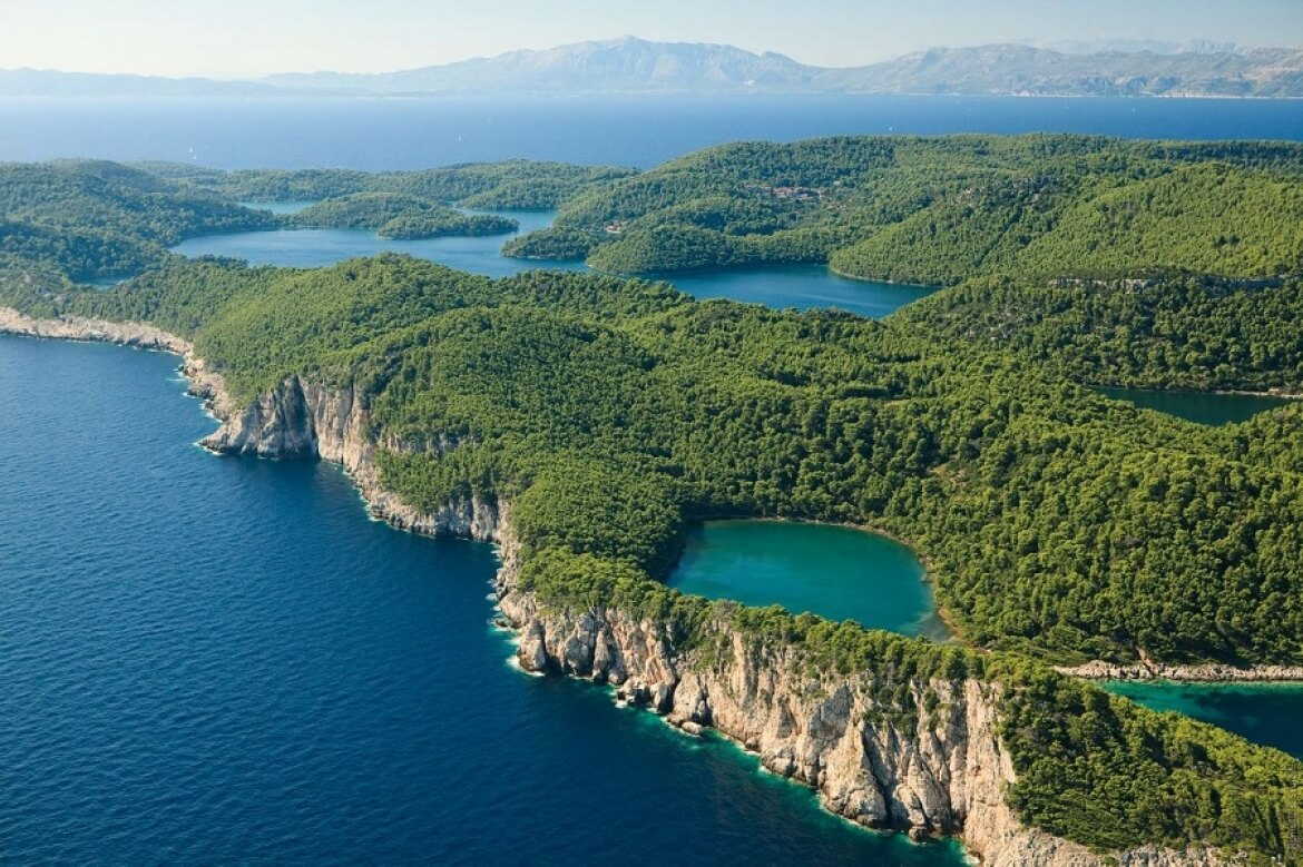 Breathtaking natural beauty of the National Park Mljet