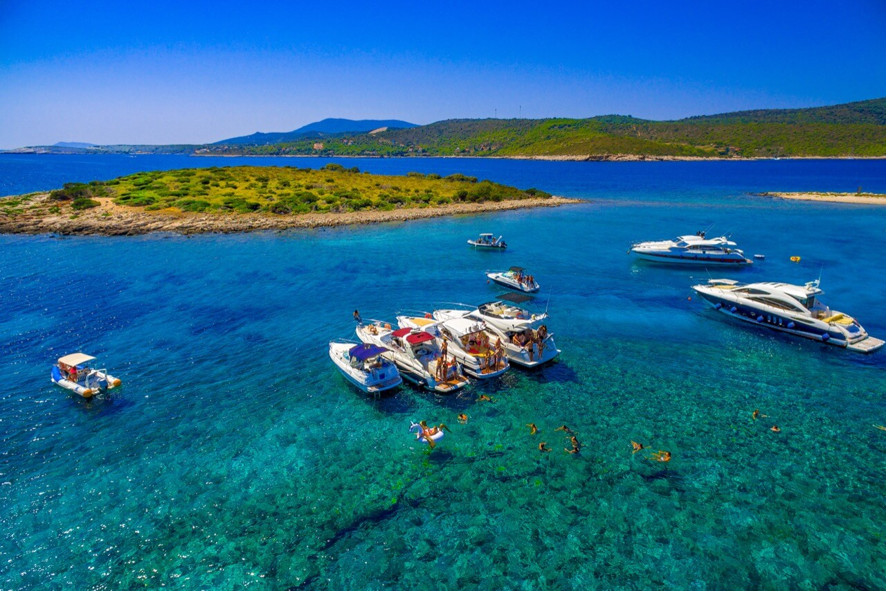 Discover the Dazzling Sea and Islands of the Split Region with a Speedboat - Blue Lagoon