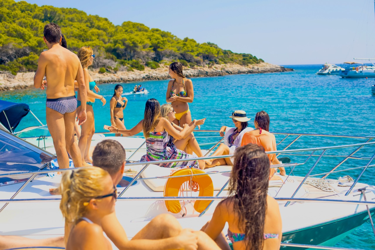 Split - Hvar Solo Travel | Exploring Pakleni Islands and Hvar with Speedboat