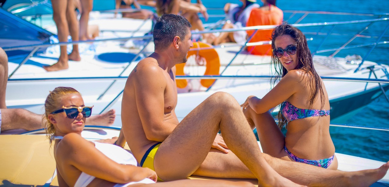 it is all about summer refreshing sea and good company summer vibes daily yacht cruises