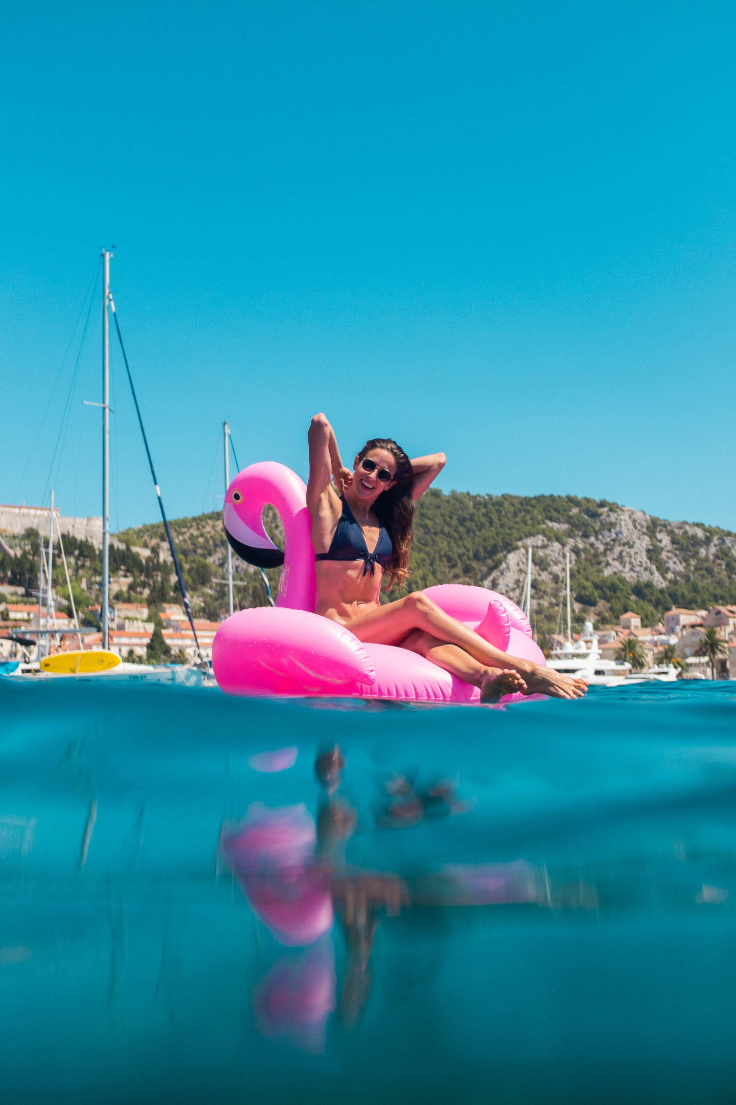 flamingo crew croatia istria split dubrovnik hvar boat for a day
