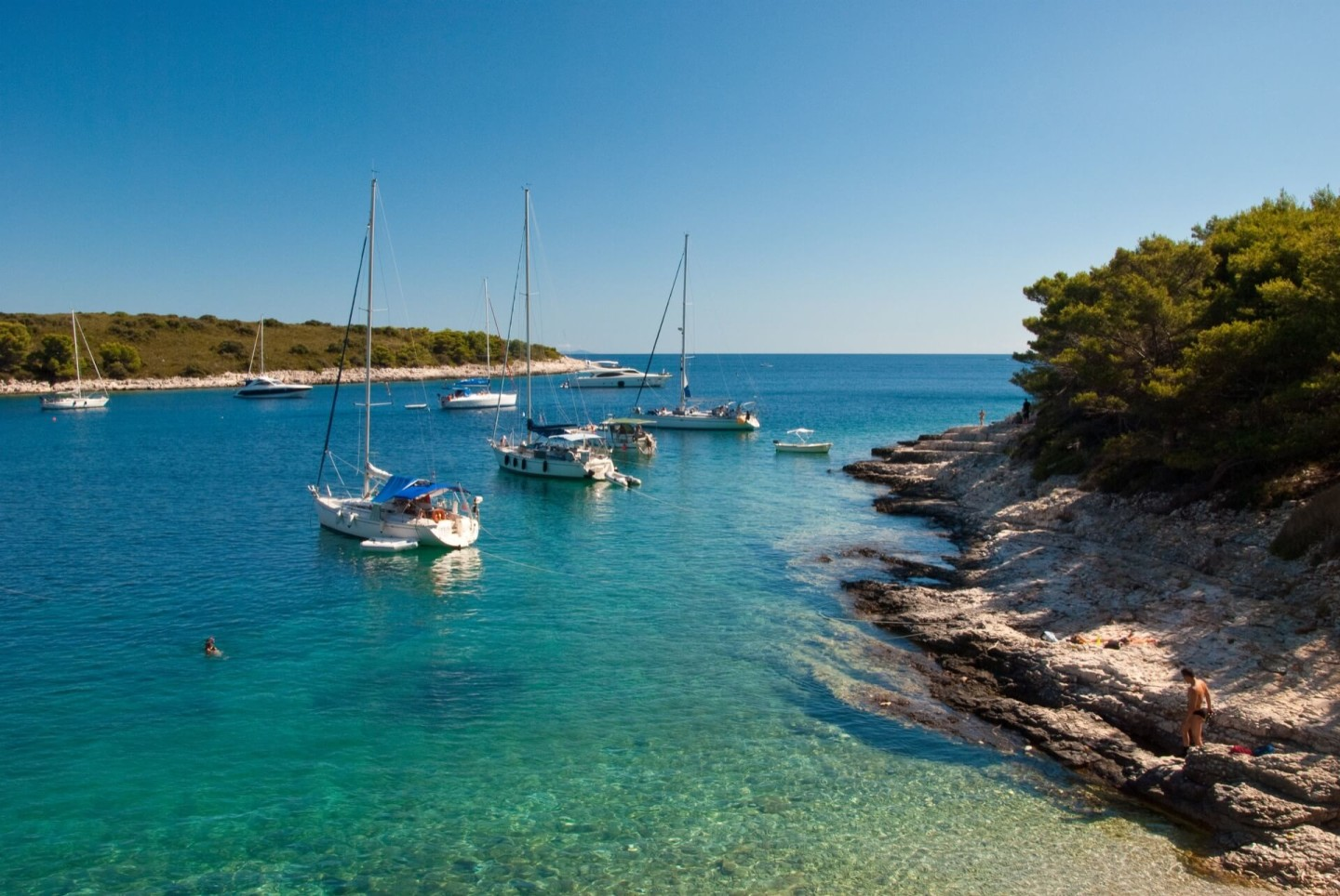 sailing holidays croatia luxury yacht charter hvar sailing hidden croatia holidays