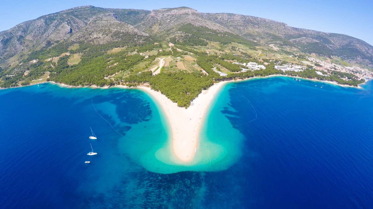 croatia yachting mega yacht charter zlatni rat bol brac croatia diving