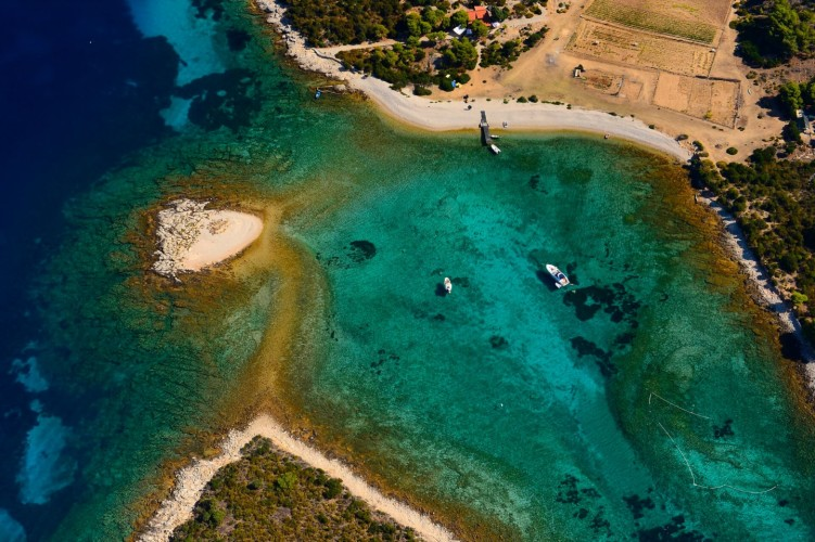sail croatia vis island hopping hidden treasures snorkeling