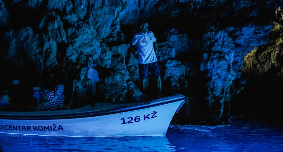 blue cave deep look into the uniqueness of the adriatic croatia daily cruises rent a boat