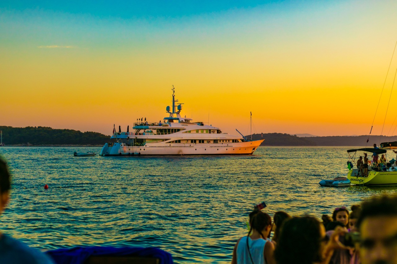 sunset luxury yachting cruises and parties on hvar yacht4day