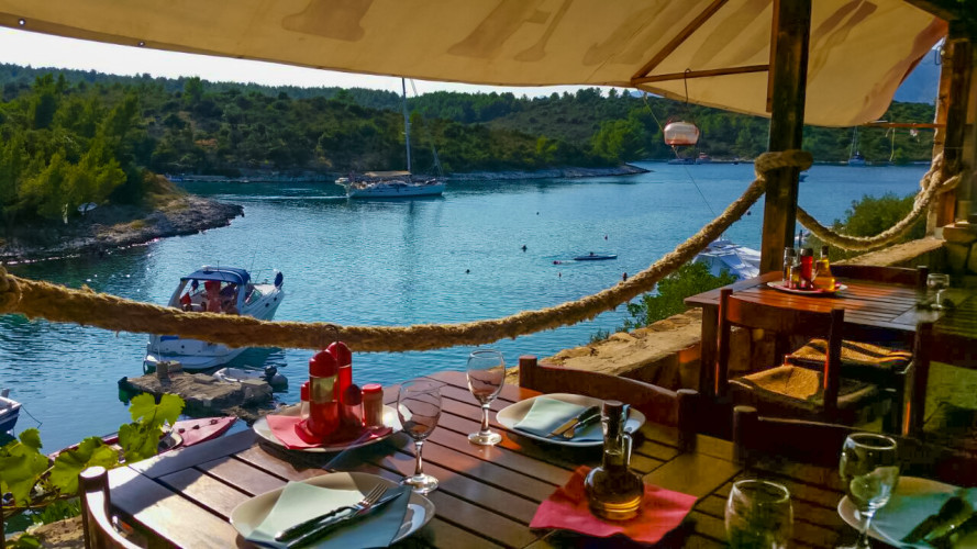it is all about summer refreshing sea and good company summer vibes perfect views from the restaurant
