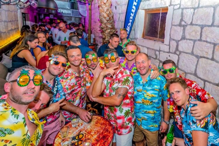 stag party escalation seven club hvar party rent a boat