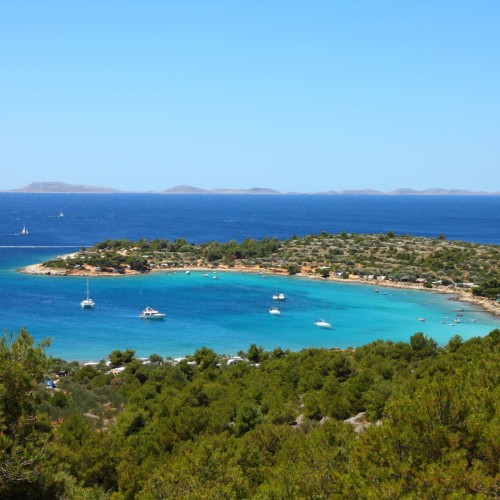 escape the hot cities and jump on an island hopping experience in croatia