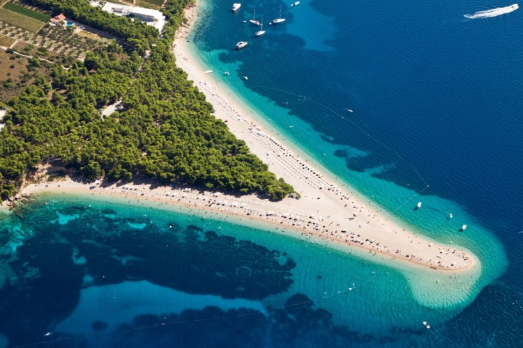 golden cape unforgetabble views on brac on your daily yacht cruise