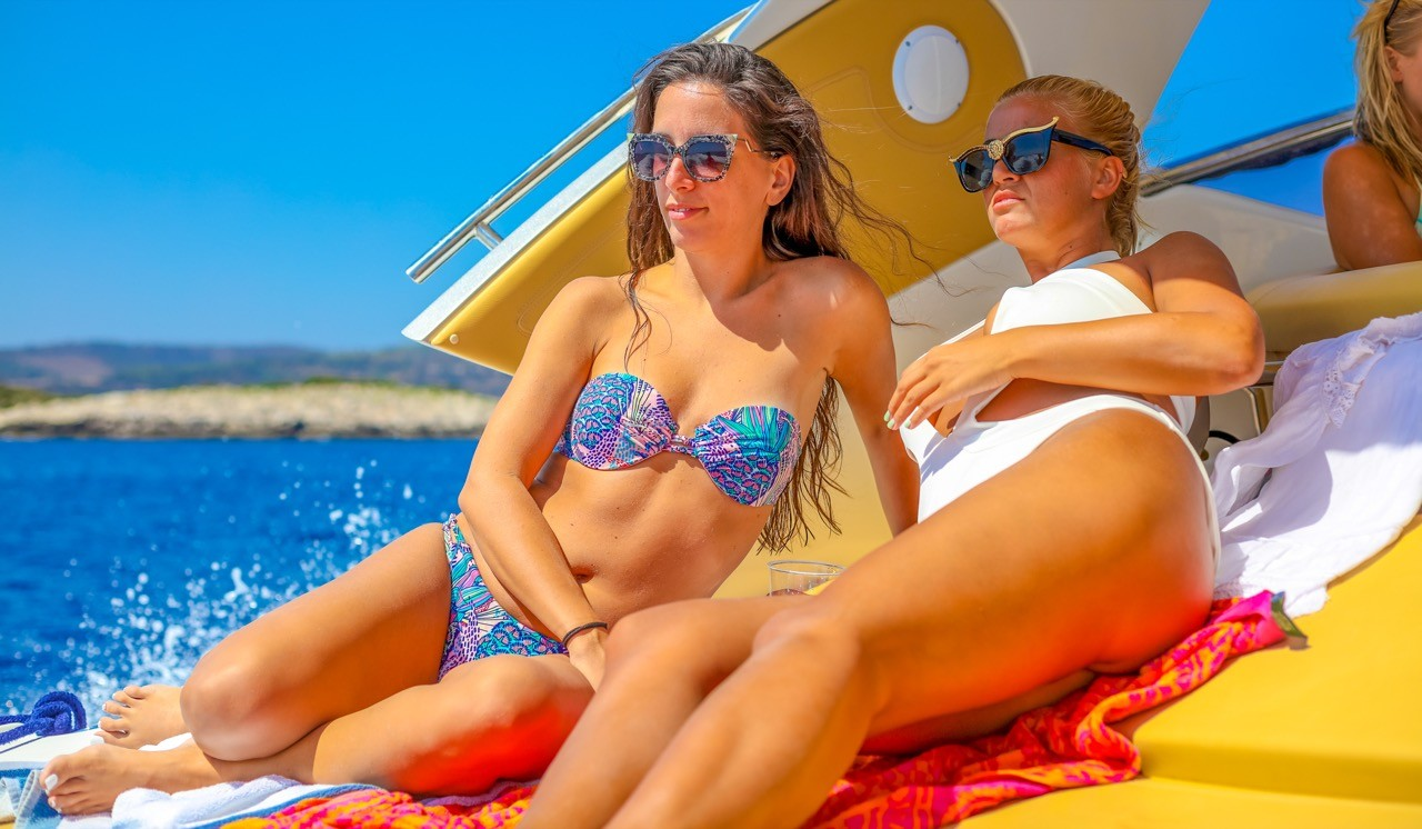 beauties on a yacht join the party and enjoy your holidays in croatia