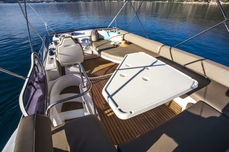 azimut 43 dubrovnik 33 spacious dining area
