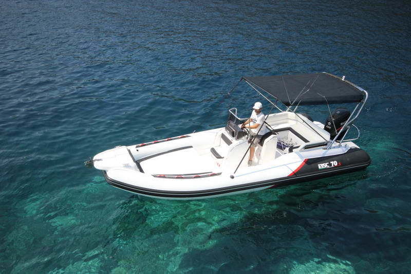 BSC 70 Sport sailing for day rent speedboat blue lagoon rental