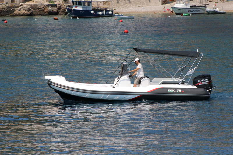 BSC 70 Sport sailing for day rent speedboat islands hopping