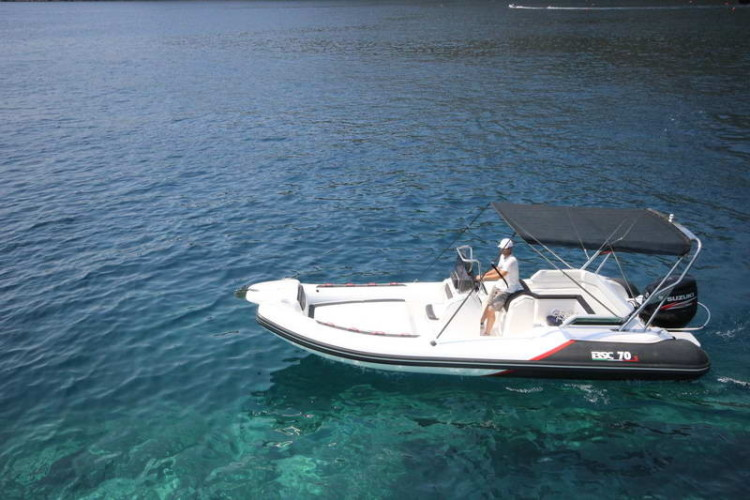 BSC 70 Sport sailing for day rent speedboat summer island hopping blue lagoon
