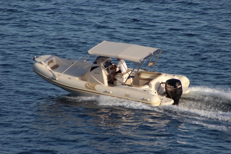 BSC 80 speedboat rental in split beautiful sea getaway