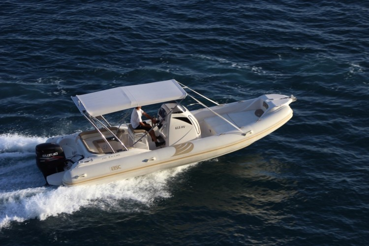 BSC 80 speedboat rental in split day cruise getaway