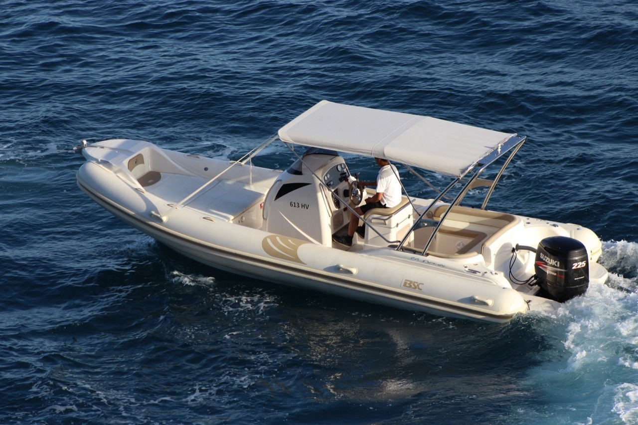 BSC 80 speedboat rental in split holidays summer rental