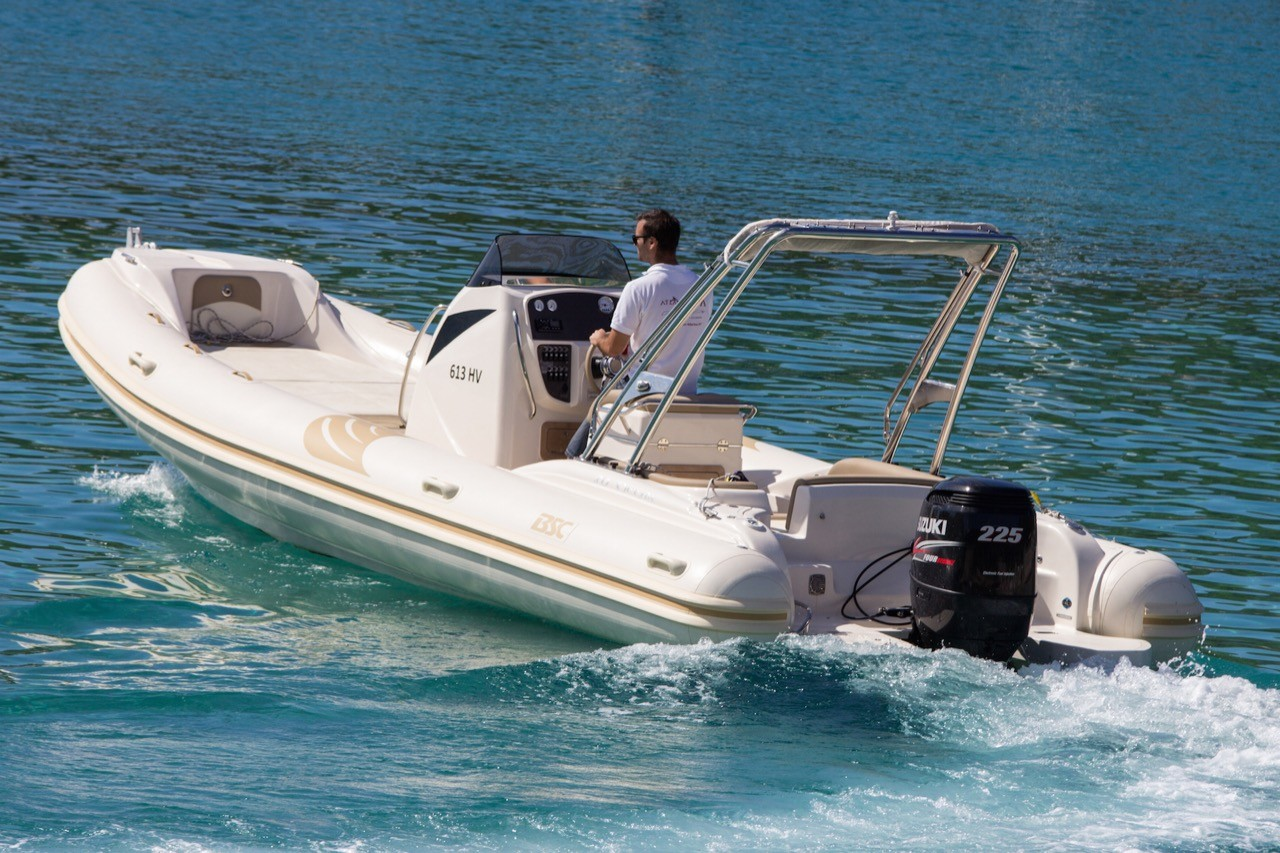BSC 80 speedboat rental in split what to do in split