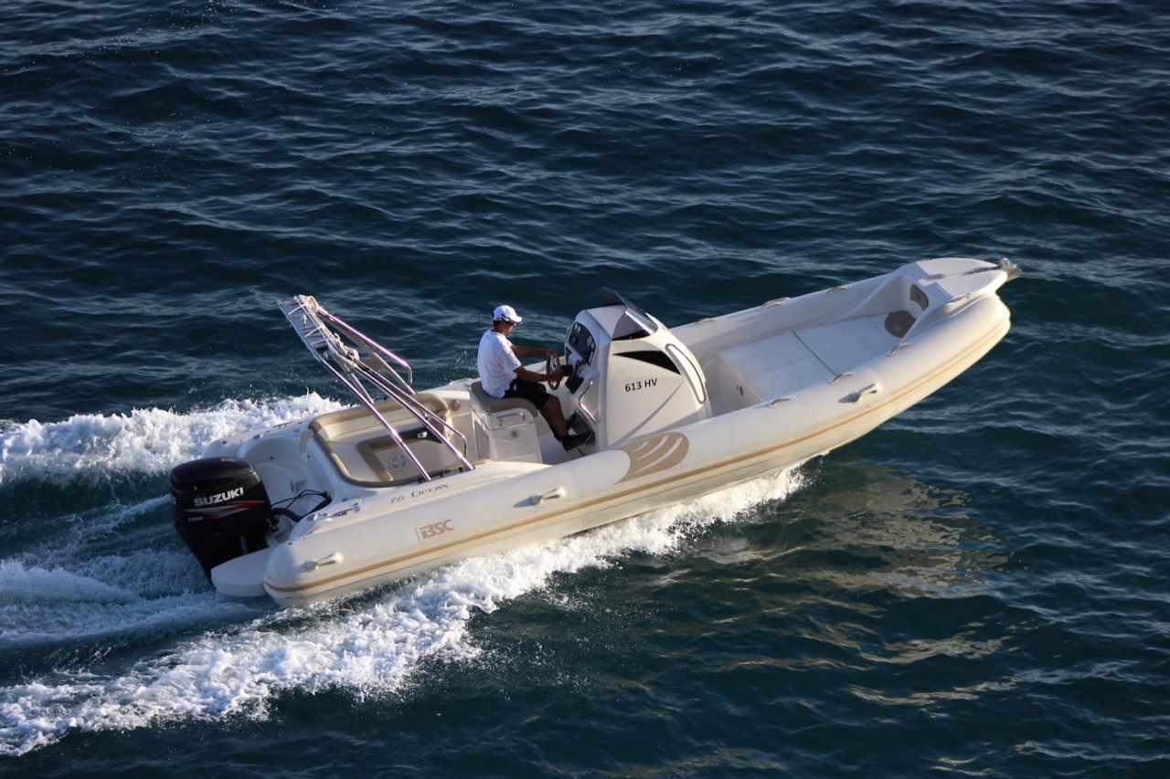 BSC 80 speedboat rental in split