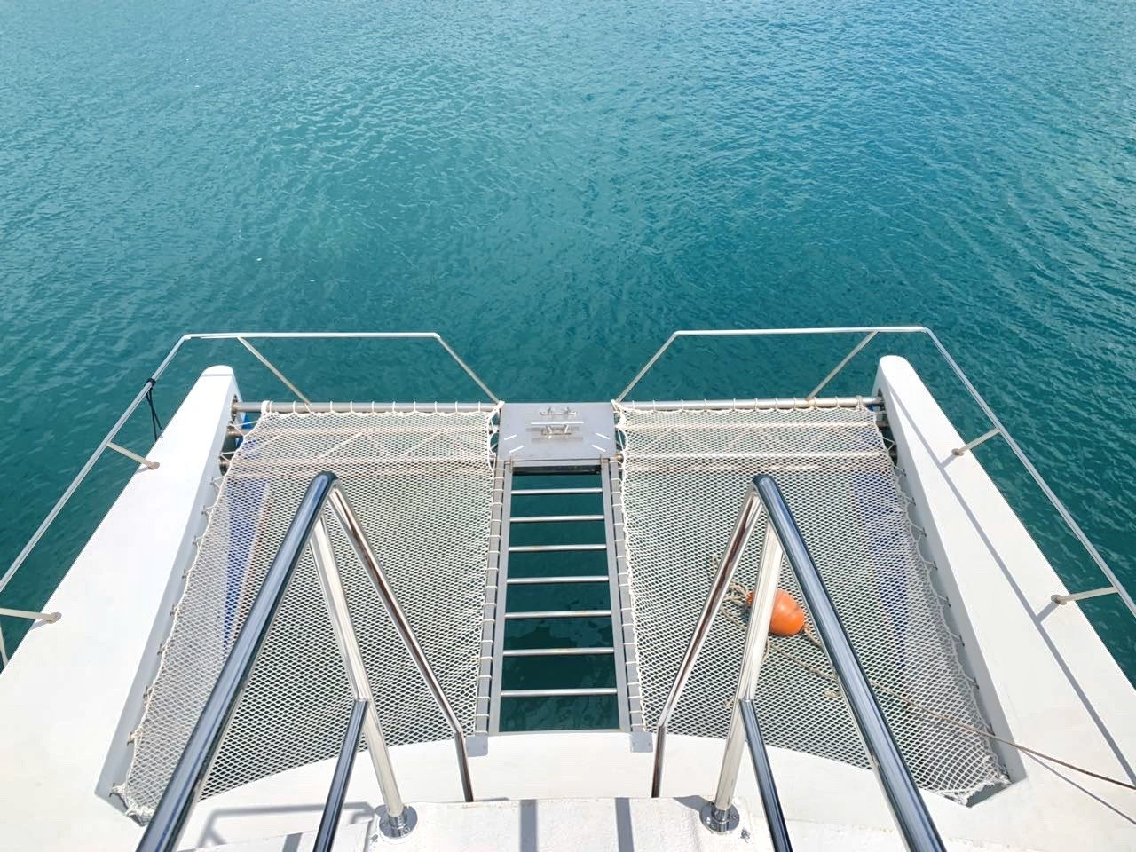 epidaurump catamaran yachting daily tour chill net