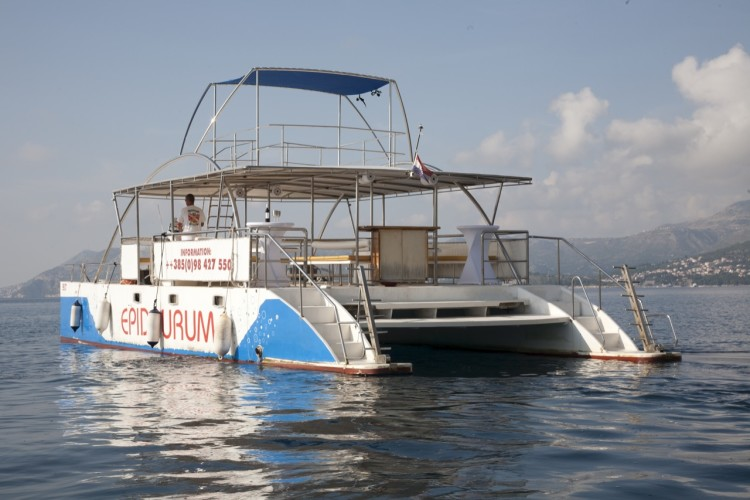 epidaurump catamaran yachting daily tour island hopping