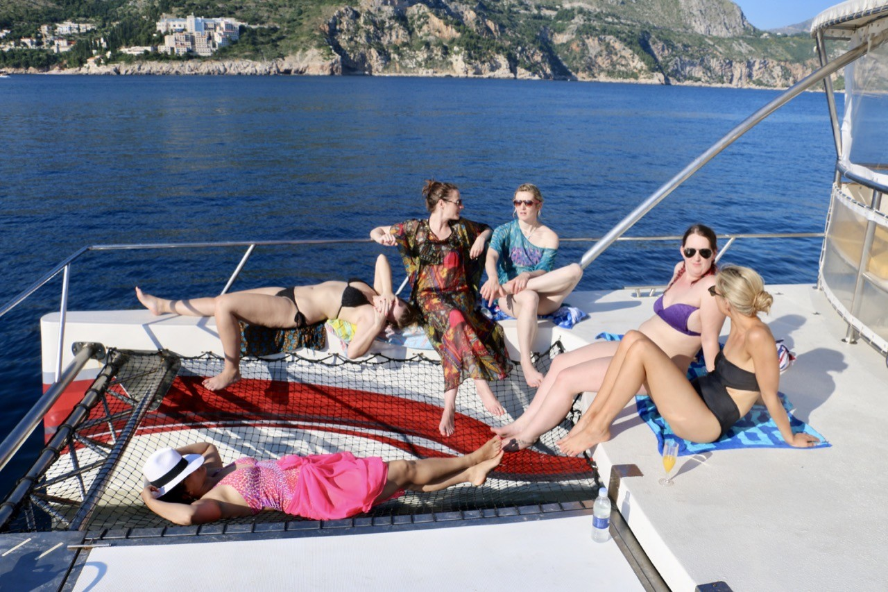 epidaurump catamaran yachting daily tour relax and unwind