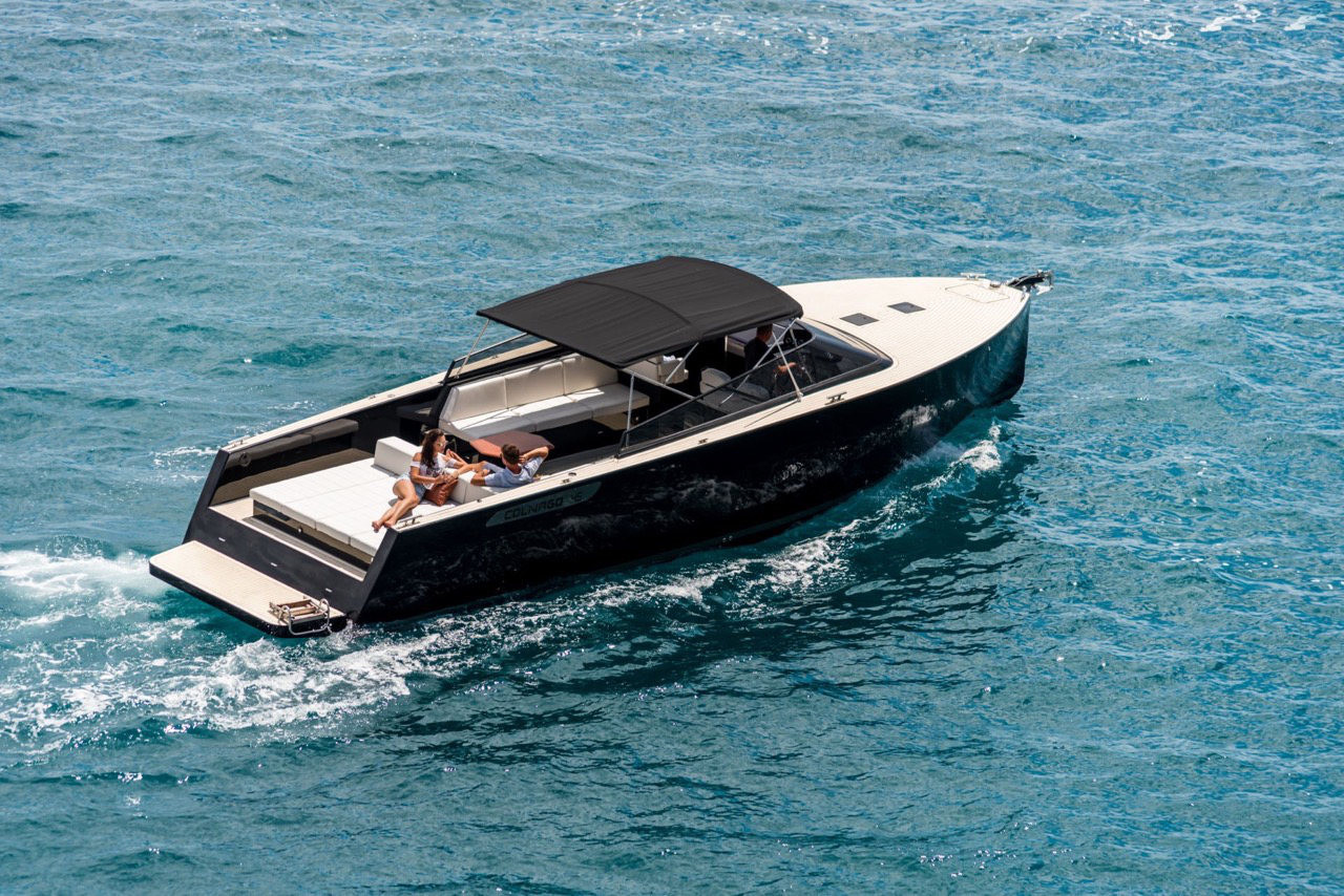 Colnago 45 rent luxurt motor yacht for a day in split region