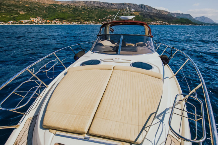 cranchi 41 sail croatia hvar party boat
