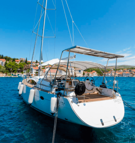 elan 415 impression daily and overnight sailing yacht cruises hvar hedonism sailing croatia