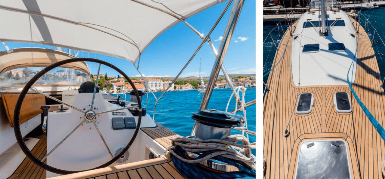 elan 415 impression daily and overnight sailing yacht cruises hvar space and luxury