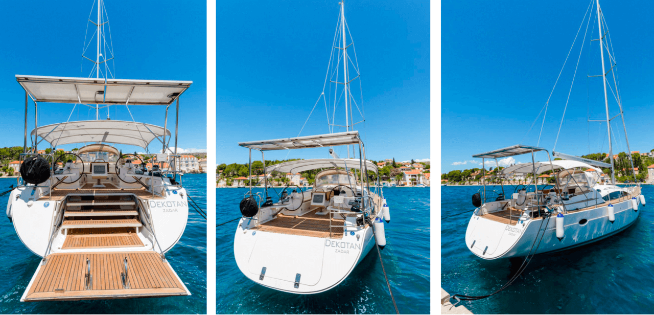 elan 415 impression daily and overnight sailing yacht cruises hvar space and stylish sailing
