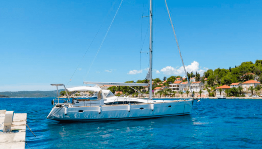 elan 415 impression daily and overnight sailing yacht cruises hvar summer holidays