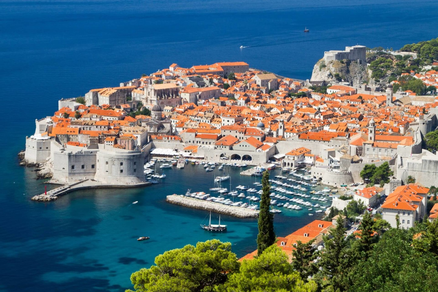 dubrovnik summer bird views the pearl of the adriatic