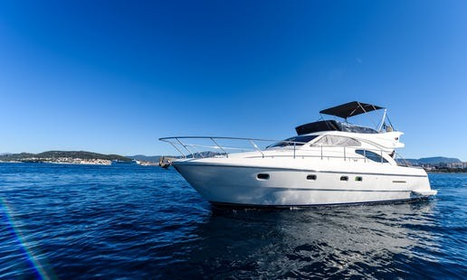 jeanneau prestige 400 split region daily cruises luxury style