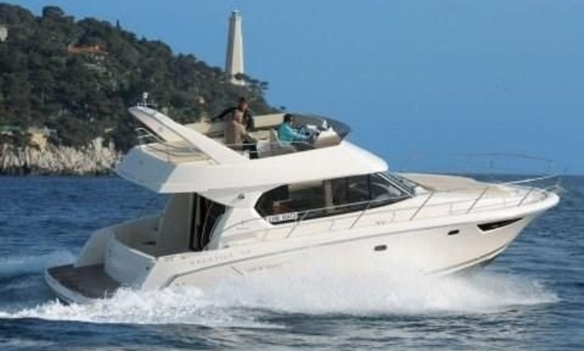 jeanneau prestige 400 split region daily cruises speed cruising