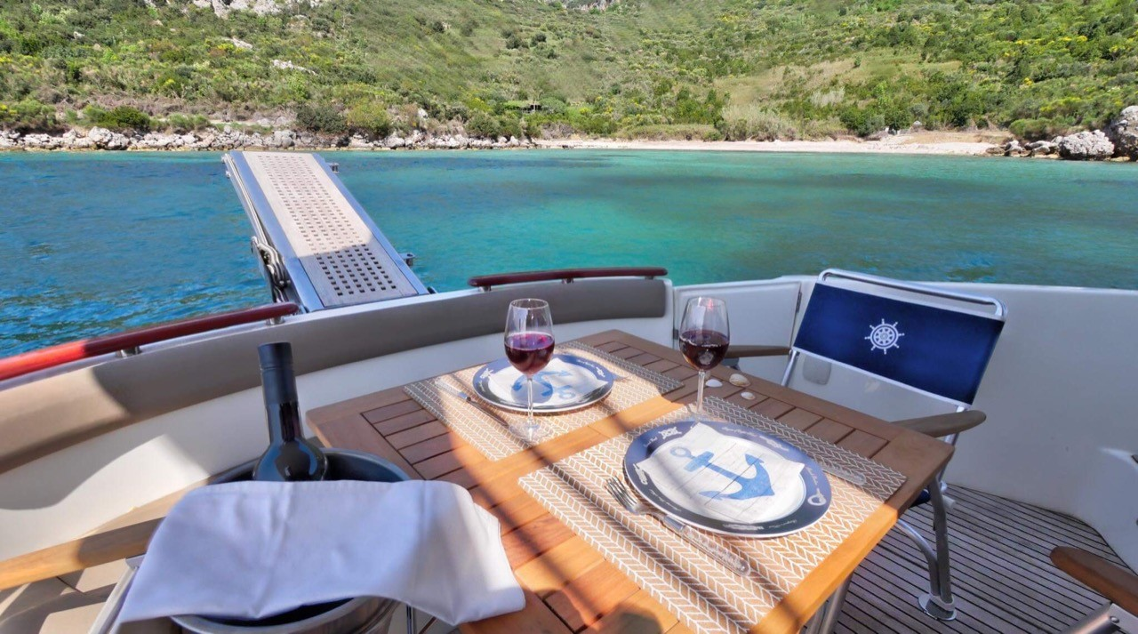 Jeanneau Prestige 440 Fly dubrovnik yachting daily experience fly deck