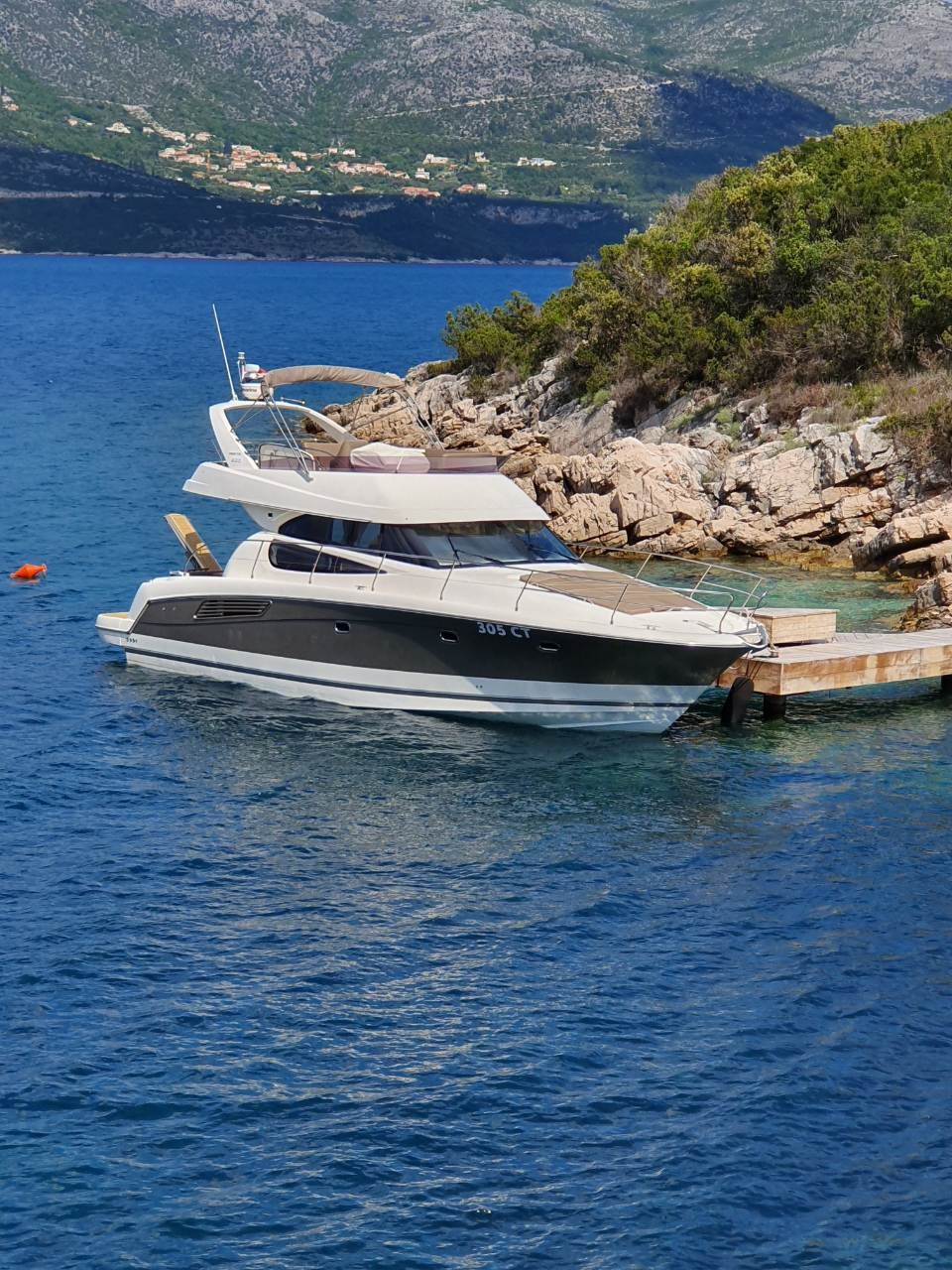 Jeanneau Prestige 440 Fly dubrovnik yachting relax daily experience coast