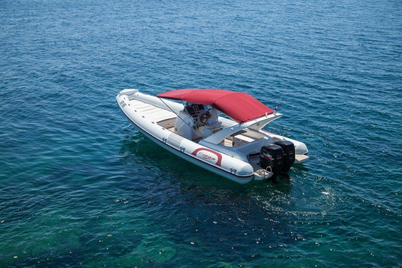 croatia island hopping speedboat rental day trips from rovinj croatian islands