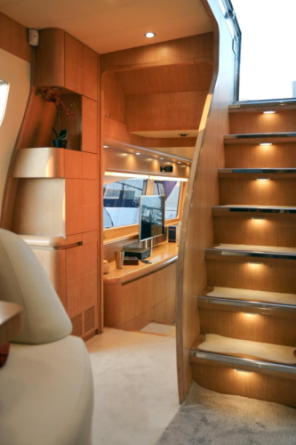 Luxury Cruise Istria to Venice 15 comfort yachting experience staircase