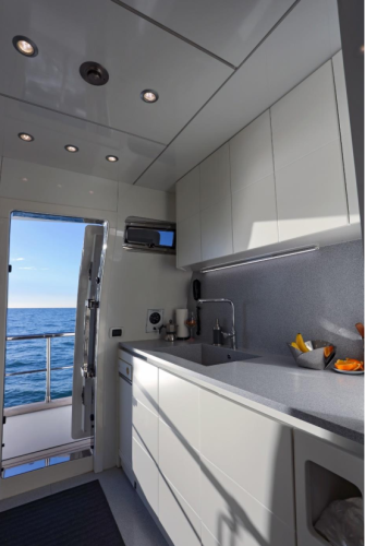Luxury Cruise Istria to Venice 31 daily yachting experience kitchen