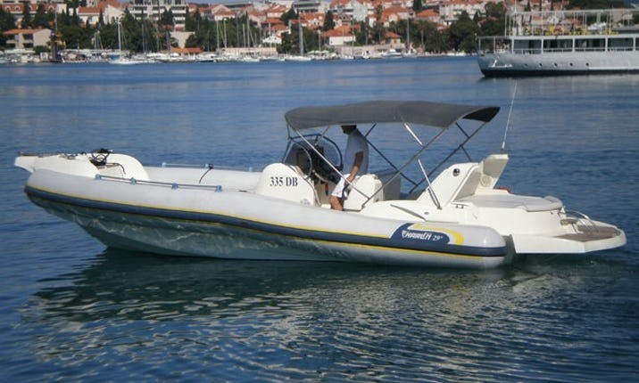 marlin 20 speedboat for rent dubrovnik holidays
