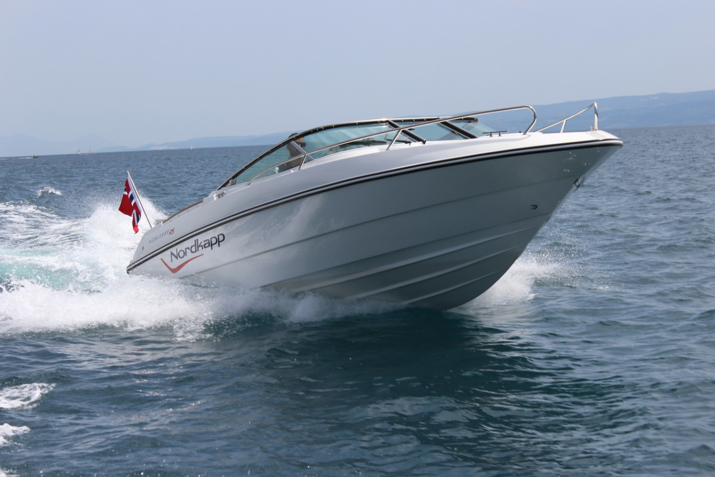 Nordkapp Noblesse 820 RS summer rent a boat for a day speedboat summer vacation cruise