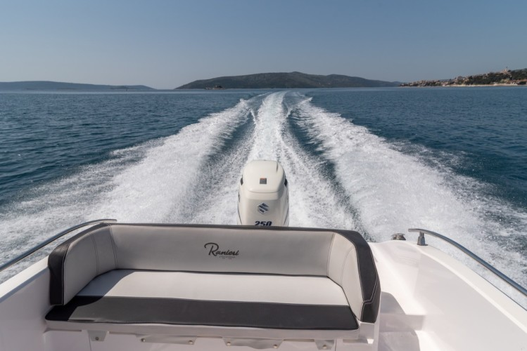 Ranieri Voyager 23S family friends summer on split sunbath breathtaking panoramas