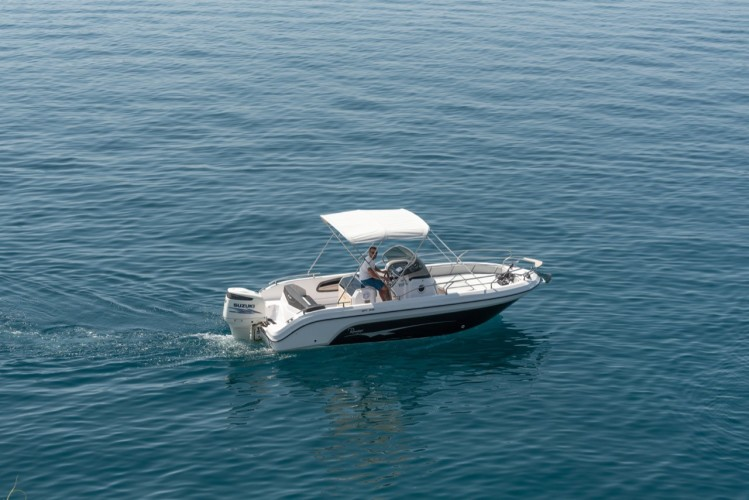 Ranieri Voyager 23S family friends summer on split to do in split region blue lagoon