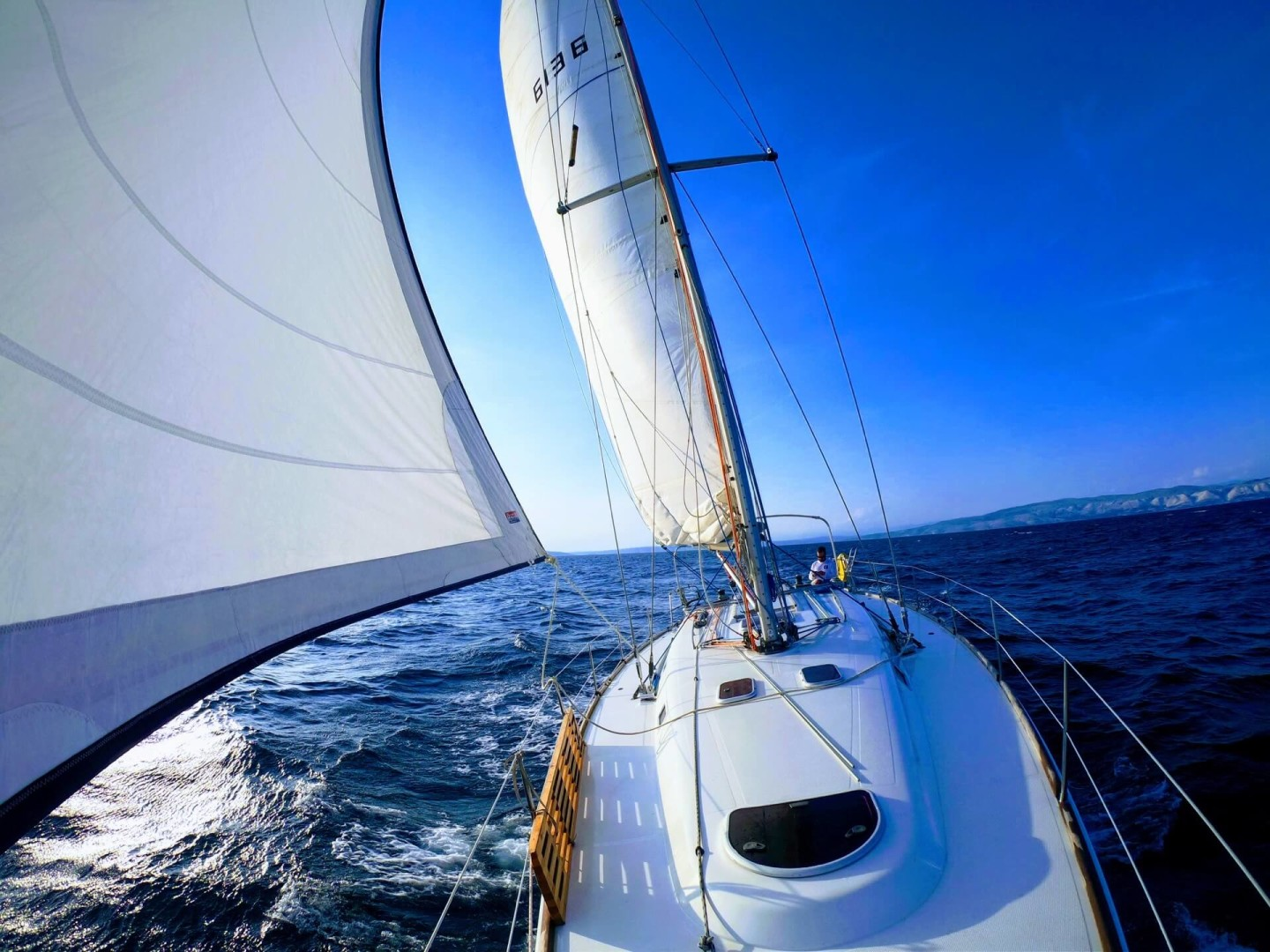 salona45 sailing croatia daily boat for hire yachting croatia full of life
