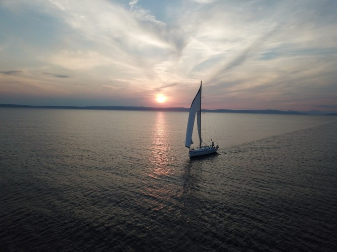 salona45 sailing croatia sunset sessions daily yacht cruises daily boat for hire